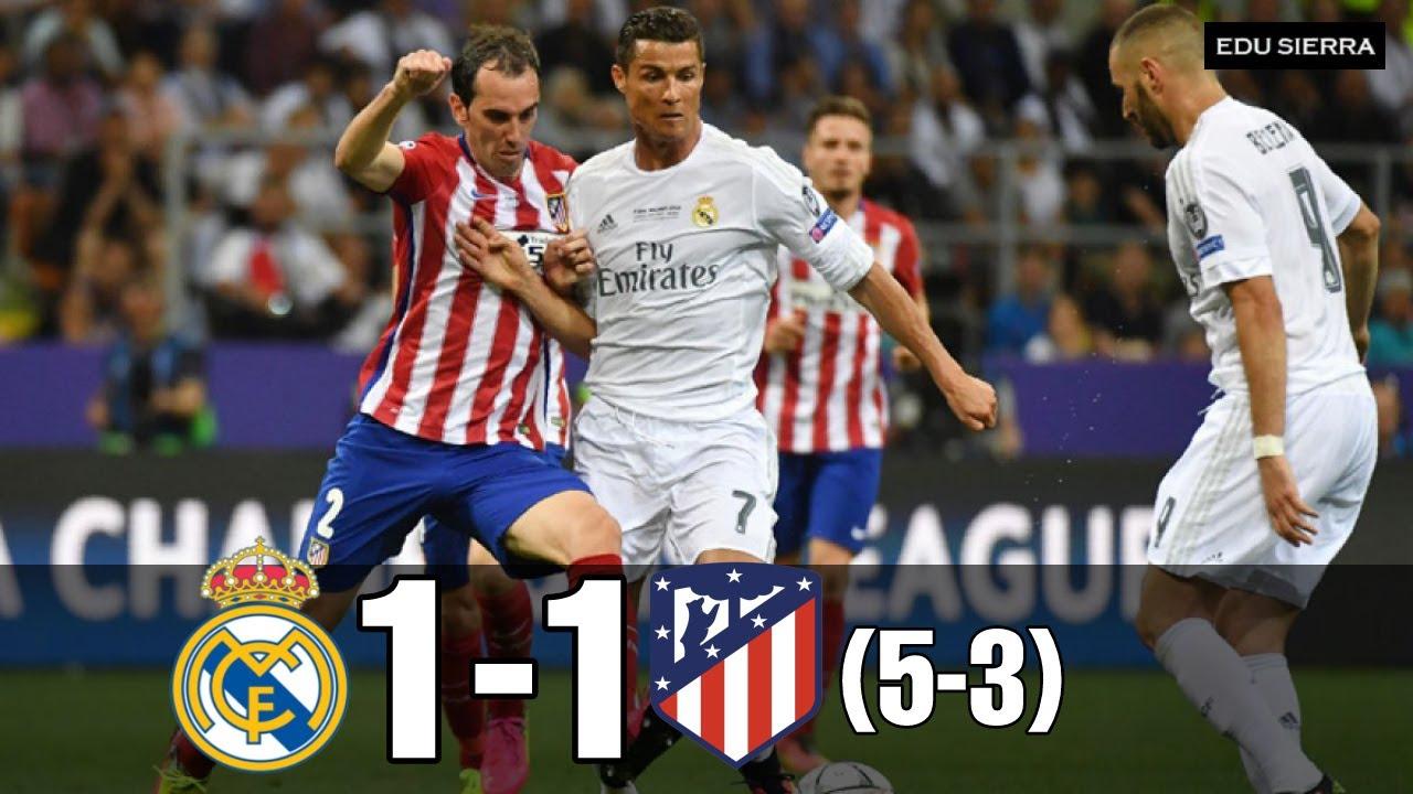 "Download Real Madrid vs Atlético de Madrid, (5-3) Final ""UCL"", La ""Undecima"" (28/05/2016)"