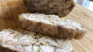 Домашняя куриная колбаса (как готовить)