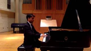 Arunesh Nadgir performs Bach Partita No.  3 in A minor, BWV 827: Fantasia, Allemande, Corrente