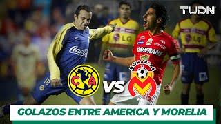 Top 10 Goles entre América y Morelia I TUDN