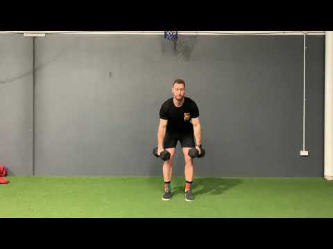 Dumbbell Exercises - DB Clean and Press