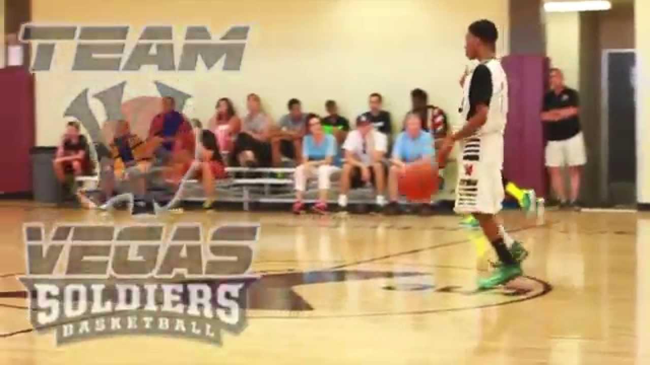 15U Team Vegas Soldiers AAU Basketball Spring 2014 Highlights