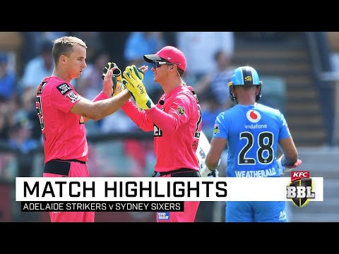 Sixers Take Points Despite Rashid's BBL Hat-trick | KFC BBL|09