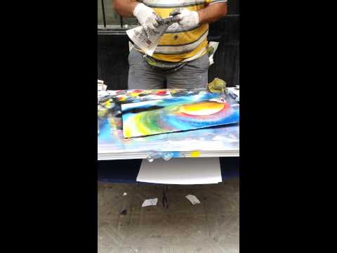 Spray Paint Artist- Brazil 2013 (Like and Share)