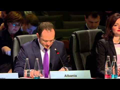 Statement of MFA Ditmir Bushati at OSCE Ministerial Meeting.