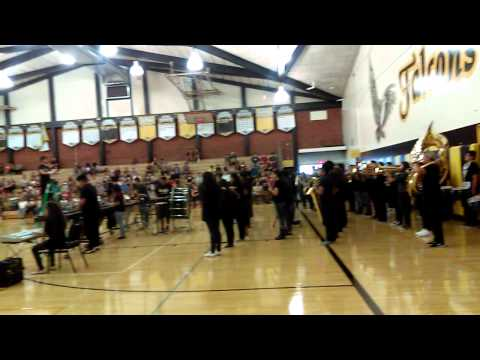 Rubidoux High School band. 08/20/15.