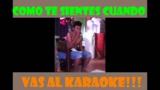 karaoke - video gracioso