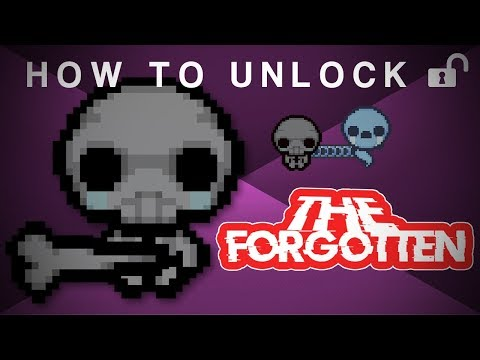 How to Unlock The Forgotten | The Binding Of Isaac: Afterbirth + The Forgotten Update!