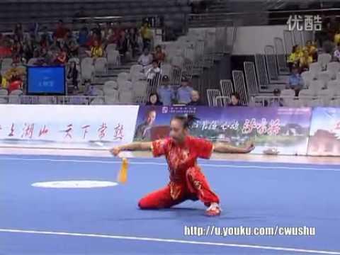 2013年全中国武術套路(女子剣術)王雅雯;江蘇