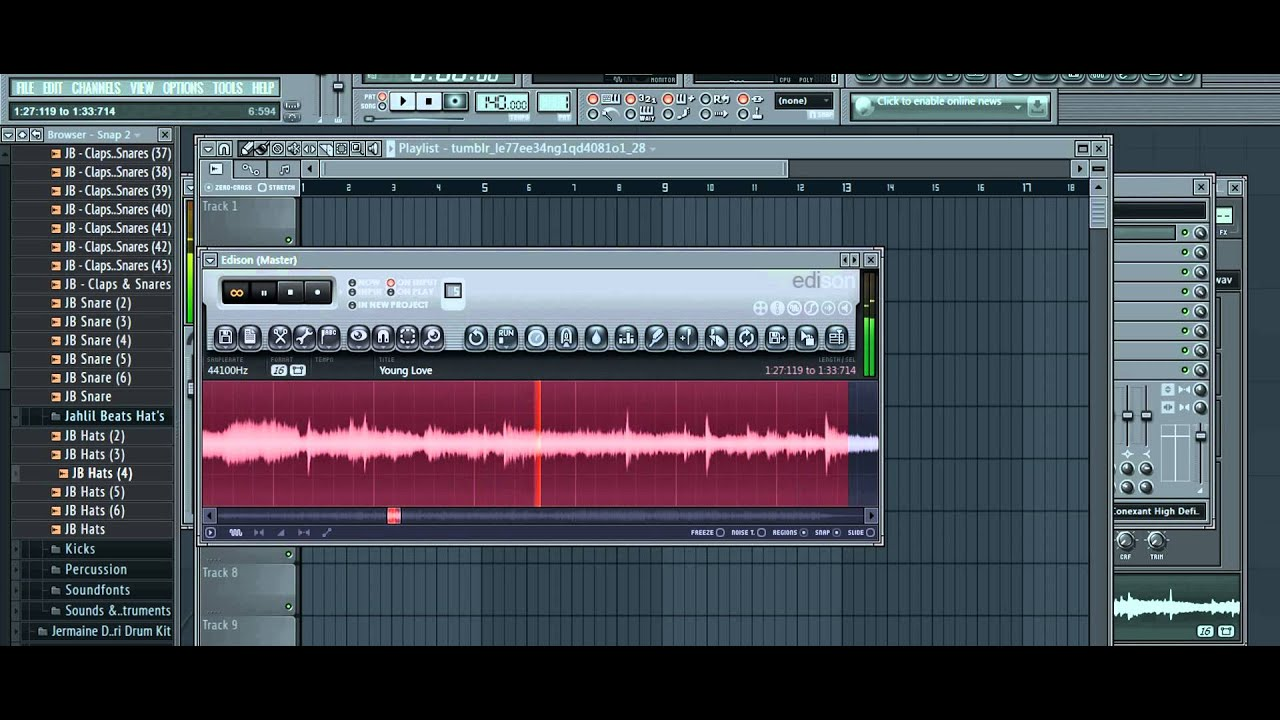 How to Chop samples in FL Studio 11 - YouTube