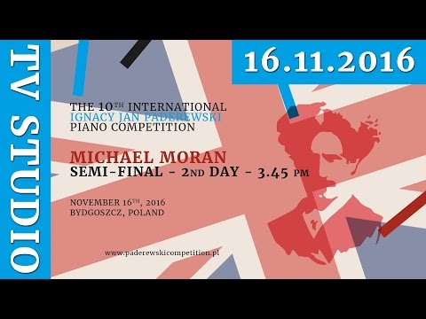 Michael Moran - 16th November 2016 r. - Studio TV (ENG)