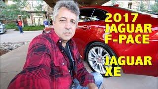 2017 Jaguar F-Pace & XE • Al Vázquez • Review en Español