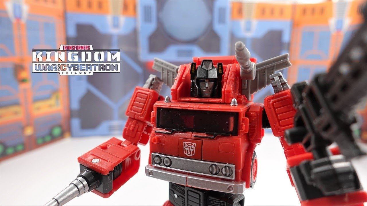 Transformers War For Cybertron Kingdom Voyager Inferno 4K Review by bvzxa3