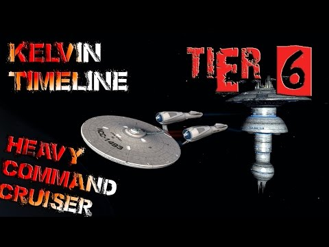 Kelvin Timeline Heavy Command Cruiser [T6] with all ship visuals - Star Trek Online