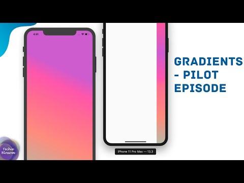Gradients - Pilot Episode   Flutter UI