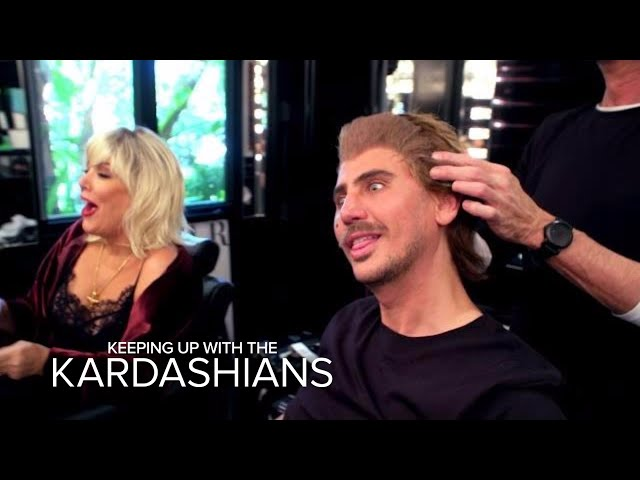 KUWTK | Kris Jenner & Jonathan Cheban Put on Disguises | E!