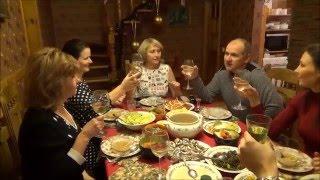 #743 Беларусь Брест Принимаем гостей Постный стол Печеная рыба