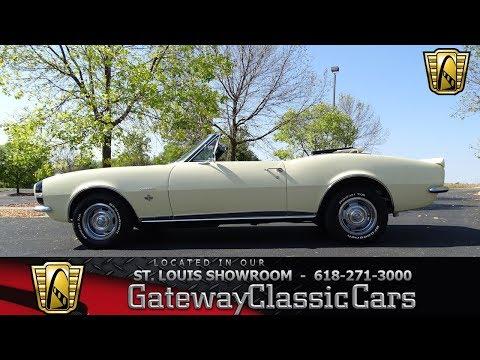 1967 Chevrolet Camaro RS Convertible Stock #7480 St. Louis Showroom