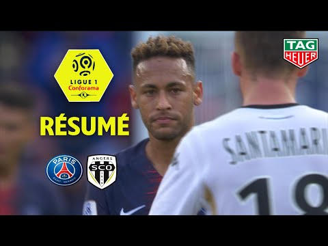 Paris Saint-Germain - Angers SCO ( 3-1 ) - Résumé - (PARIS - SCO) / 2018-19
