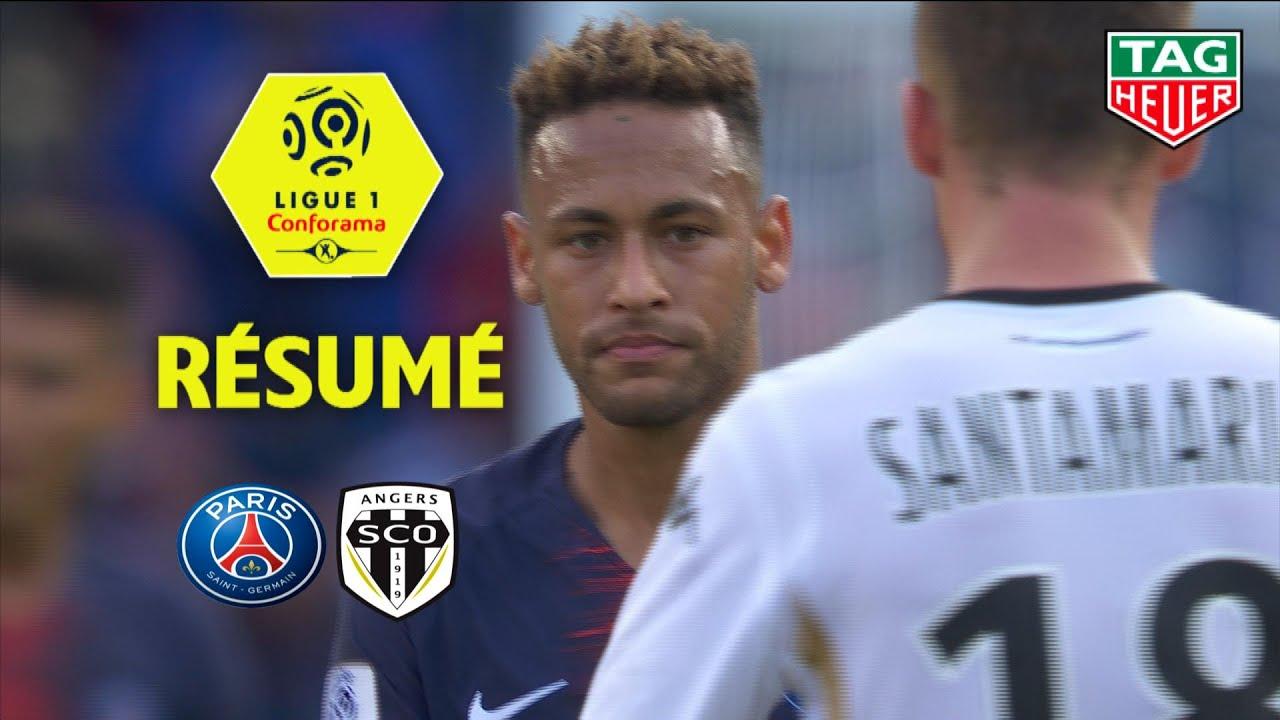 Paris Saint Germain Angers Sco   Resume Paris Sco