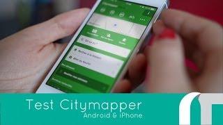 Citymapper, Android & iOS | Test App