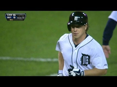 CWS@DET: Dirks' homer makes it a one-run game