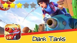 Dank Tanks - Lilith Games - Day2 Walkthrough Real time 3v3 combat Recommend index three stars