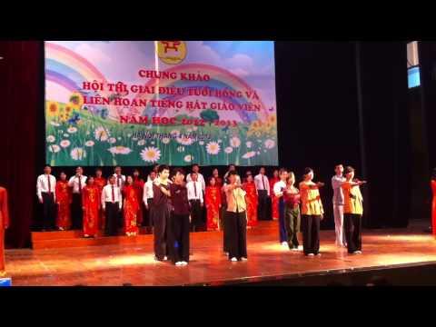 Cụm 3- GDTX. Tiếng hát Giáo viên Thành phố Hà Nội. 2012-2013