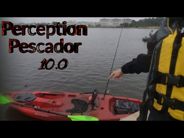 Kayak Reveal + Testing it out for the first time (Perception Pescador 10.0)