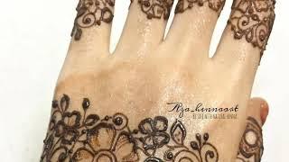 Latest easy & simple mehndi design | Unique henna design