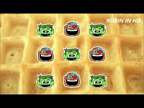 Teen Titans Go! - Waffles Song 1 & 2