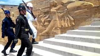 Anıtkabir Nöbet Değişimi -Guard change M.K ATATÜRK mausoleum 30.05.2016