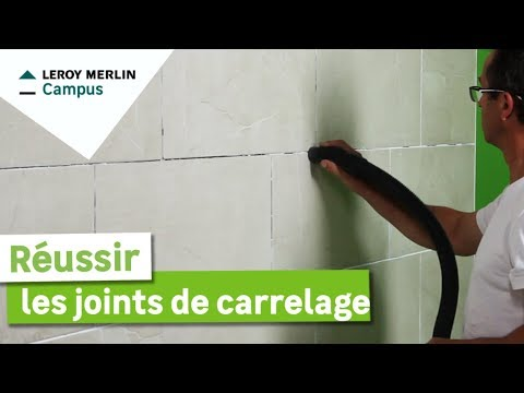 Comment Faire Les Joints De Carrelage Leroy Merlin Youtube