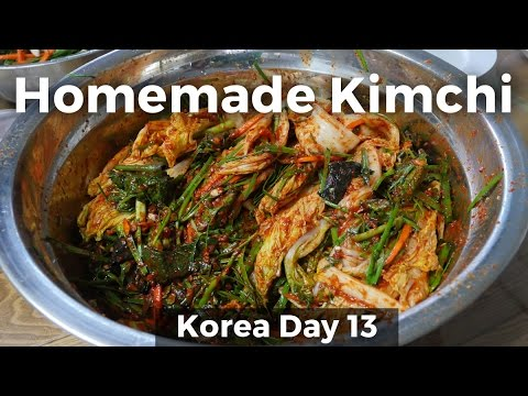 Home-Cooked Korean Food: The BEST Kimchi! (Day 13)
