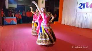 Ghoomar Dance by Anjar Kutch Kadva Patel Yuvati Group on Saptrangi 31st December 2017