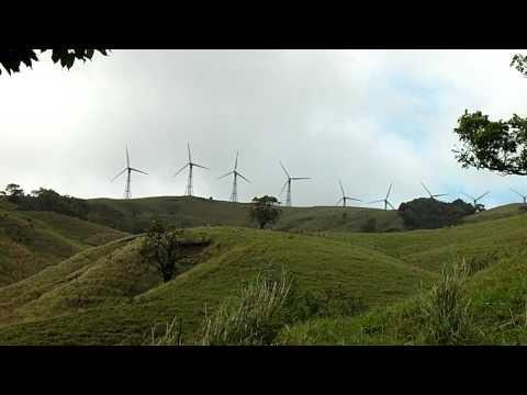 Costa Rica - Upper Plateau Wind Farm