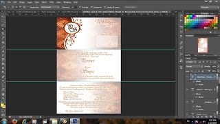 cara membuat undangan pernikahan sendiri dengan printer