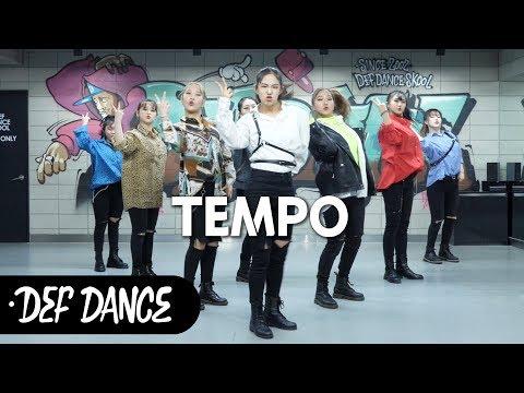 EXO (엑소) - Tempo (템포) 커버댄스 No.1 댄스학원 KPOP DANCE COVER / 데프월말평가 가수오디션 defdance
