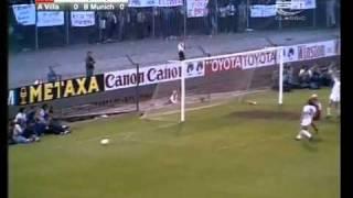1981 - 82 - Aston Villa x Bayern Munich - Uefa Copa.flv