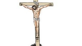 How to draw Jesus on the cross