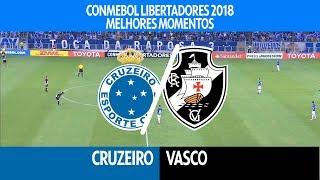 Melhores Momentos - Cruzeiro 0 x 0 Vasco - Libertadores - 04/04/2018