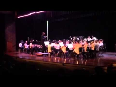 Westgate High School Concert Band-Great Locomotive Chase