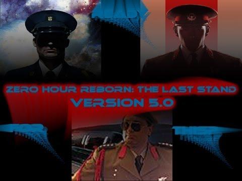 Command & conquer generals zero hour reborn the last stand.