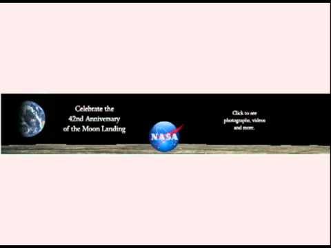 NASA Flash Banner ADs