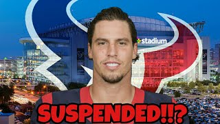 Brian Cushing Suspended!?