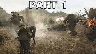 Call of Duty WW2 Gameplay Walkthrough Part 1 - Normandy D-Day