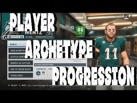 Madden 19 Franchise Mode Deep Dive | Player Archetype Progression