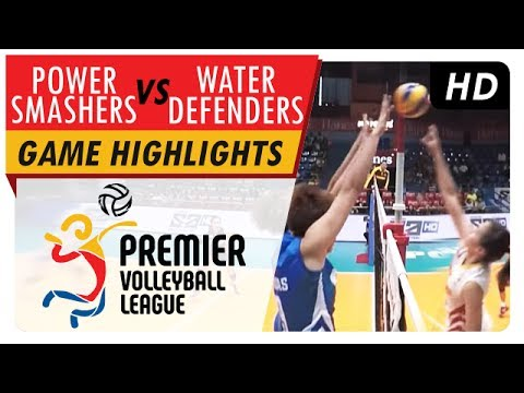 Power Smashers vs Water Defenders | Game Highlights | PVL Reinforced Conference | May 25, 2017