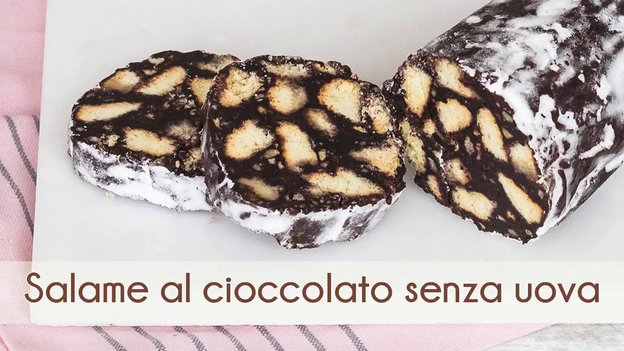 Ricetta Salame Di Cioccolato Senza Uova Fatto In Casa Da Benedetta.Salame Al Cioccolato Senza Uova Ricetta Semplice E Veloce Youtube