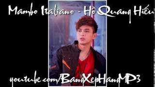 Mambo Italiano - Hồ Quang Hiếu